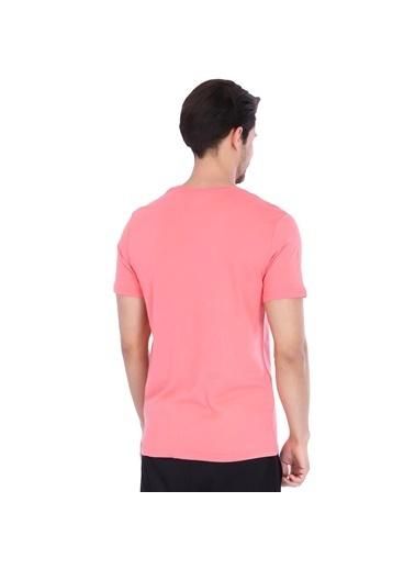 Sportive Spo-Basic Erkek Pembe Günlük Stil Tişört 710200-0Mr-Sp Pembe